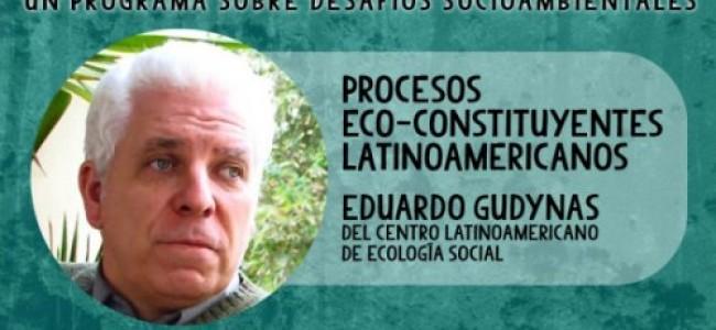 CONVERSACIONES ECO CONSTITUYENTE: DERECHOS NATURALEZA