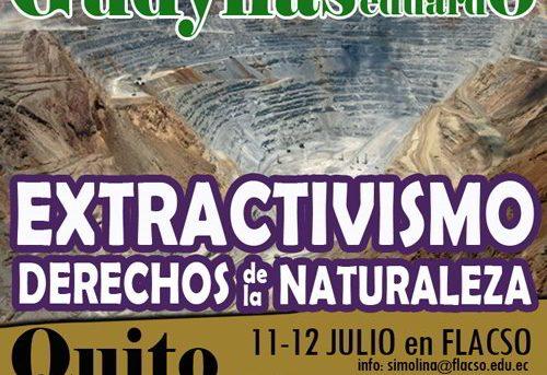 DERECHOS DE LA NATURALEZA Y EXTRACTIVISMOS – ECUADOR