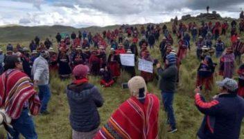 CONFLICTO CON MINERA LAS BAMBAS EN PERU: LAS CONSECUENCIAS DE MERCANTILIZAR LA POLITICA