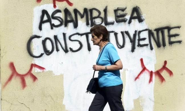 SIN ECOLOGIA, UNA CONSTITUCION EN CHILE SERIA INCOMPLETA